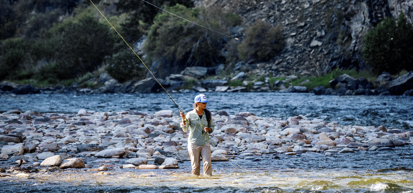 Hilary Hutcheson ushers in twilight on the Middle Fork of the Salmon. Salmon, ID. JEREMIAH WATT